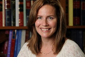 Image result for pictures of amy coney barrett